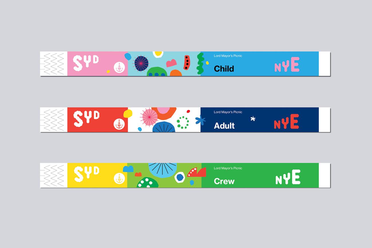 Sydney New Year's Eve Logo TDC ECV