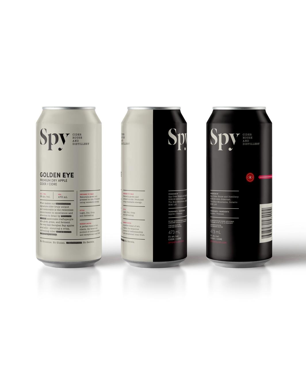 Spy Cider House and Distillery TDC ECV