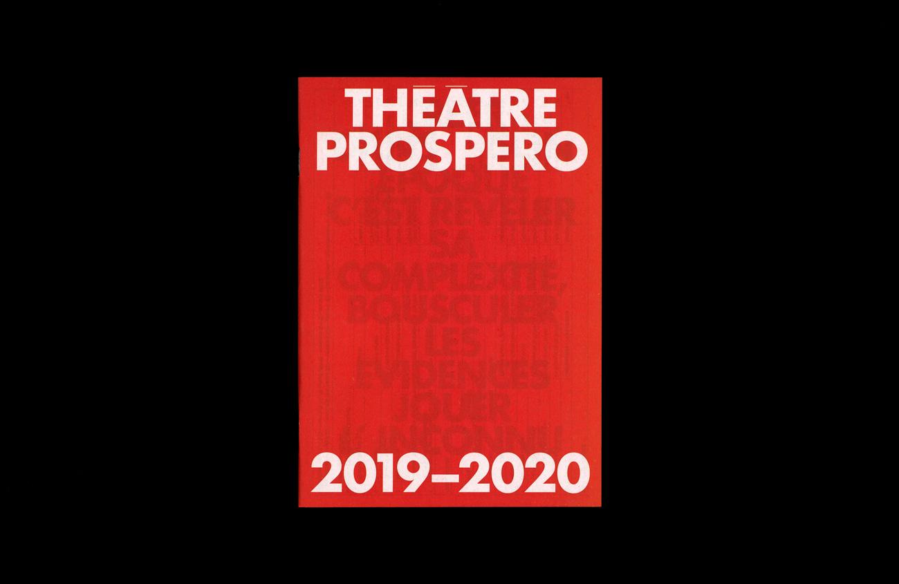 Théâtre Prospero—Saison 2019–2020 TDC ECV