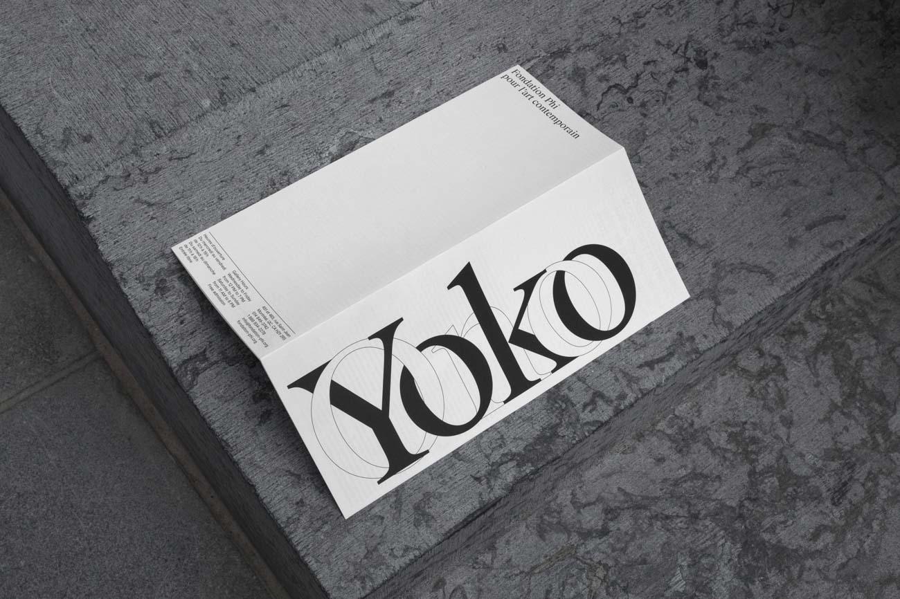 Yoko Ono Growing Freedom TDC ECV
